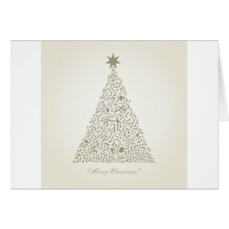 Cartes Arbre de Noël musical