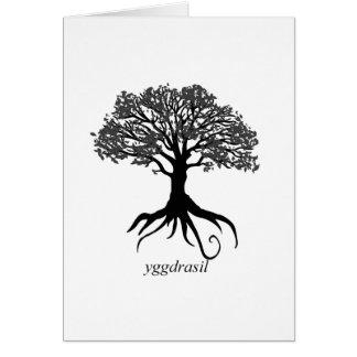 Cartes Arbre de Yggdrasil de la vie