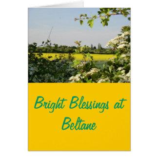 Cartes Arbre et champ de mai chez Beltane