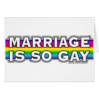 Cartes Arc-en-ciel de mariage homosexuel