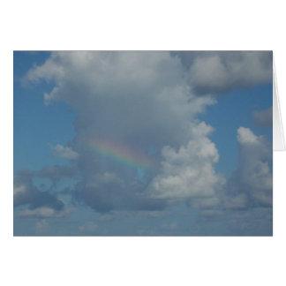 Cartes Arc-en-ciel en nuages