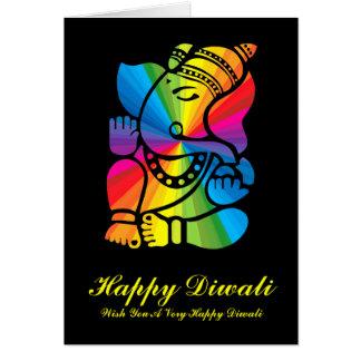 Cartes Arc-en-ciel Ganesha