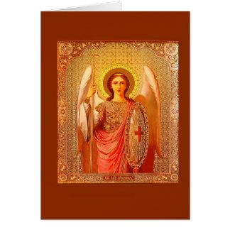 CARTES ARCHANGEL MICHAEL - VINTAGE CHRISTMAS CARD