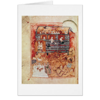 Cartes Arche de N.A.L 2334 fol.10v Noé, de 'De Tours Pent
