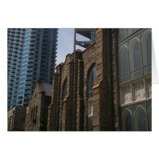 Cartes Architecture contrastante