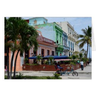 Cartes Architecture de La Havane Cuba près de Malecon