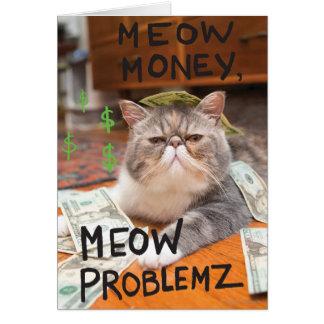 Cartes Argent de Meow, Meow Problemz