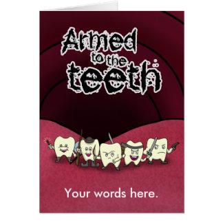 Cartes Armé aux dents
