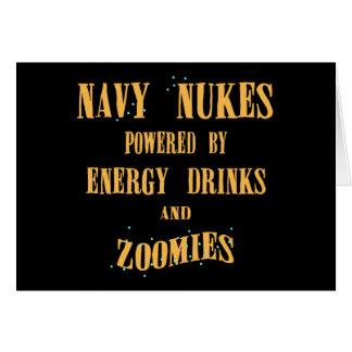 Cartes Armes nucléaires de marine actionnées par des