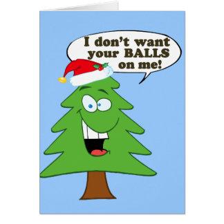 Cartes Arrêtez l'abus des arbres de Noël