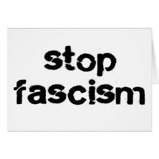 Cartes Arrêtez le fascisme