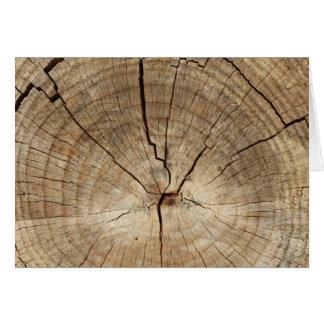 Cartes Arrière - plan d'anneaux d'arbre de Faux