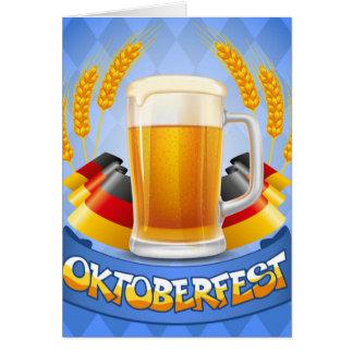 Cartes Arrière - plan de célébration d'Oktoberfest avec