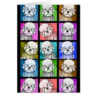 Cartes Art de bruit Dandie Dinmont Terrier