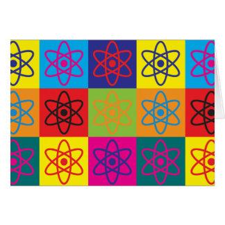 Cartes Art de bruit de physique nucléaire