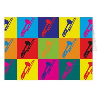 Cartes Art de bruit de trombone
