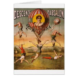 Cartes art de cirque