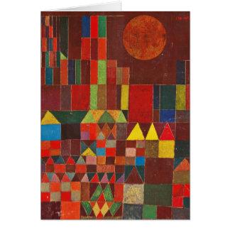 Cartes Art de Paul Klee