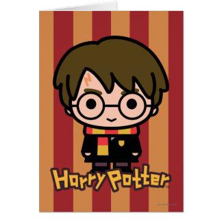 Cartes Art de personnage de dessin animé de Harry Potter
