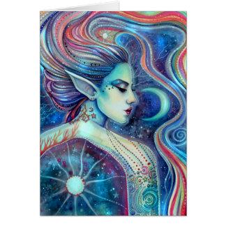 Cartes Art féerique surréaliste d'imaginaire de Celesta