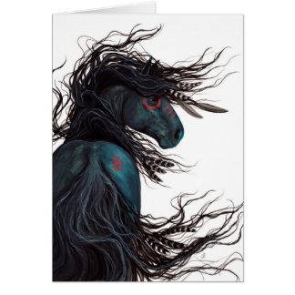 Cartes Art frison majestueux de cheval par BiHrLe