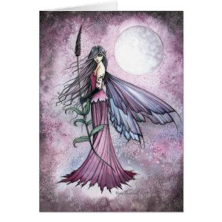 Cartes Art mystique de fée d'imaginaire de lune de