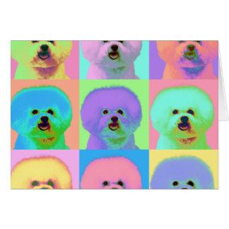 Cartes Art op - Bichon Frise - Cody