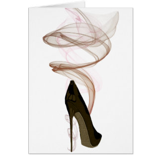 Cartes Art stylet de chaussure de Smokin