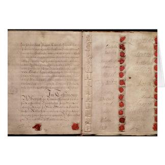 Cartes Articles d'union entre l'Angleterre et l'Ecosse