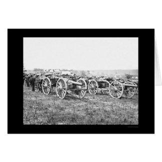 Cartes Artillerie à Richmond, VA 1862