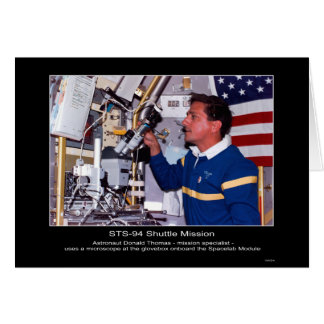 Cartes Astronaute Donald Thomas à bord du laboratoire