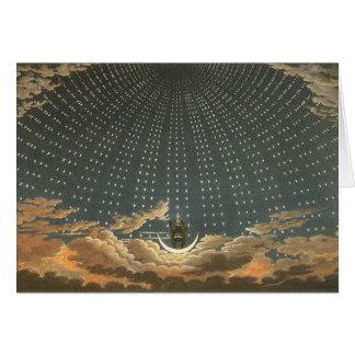 Cartes Astronomie céleste vintage, reine de la nuit