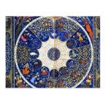 Cartes astronomiques vintages et constellations cartes postales