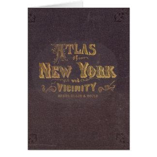Cartes Atlas de proximité de New York