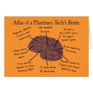Cartes Atlas du cerveau d'une technologie de pharmacie