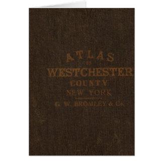 Cartes Atlas du comté de Westchester, NY