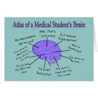 Cartes Atlas d'un cerveau #2 de l'étudiant en médecine