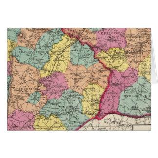 Cartes Atlas topographique des comtés 5 du Maryland