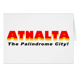 Cartes Atnalta : La ville de palindrome
