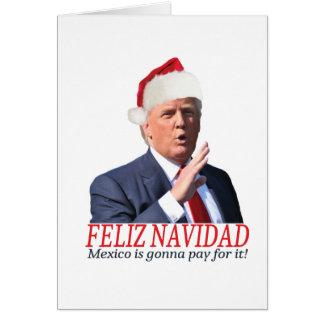 Cartes Atout. Feliz Navidad, Mexique va payer lui !