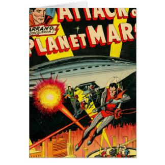 Cartes Attaque sur la planète Mars