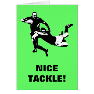 Très Cartes de vœux Humour Rugby personnalisées | Zazzle.fr WJ69