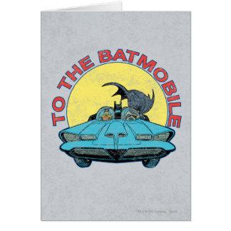 Cartes Au Batmobile - icône affligée