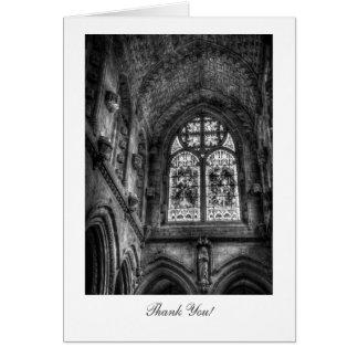 Cartes Au-dessus de l'autel de chapelle - Merci