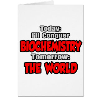 Cartes Aujourd'hui biochimie… demain, le monde