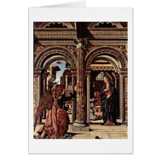 Cartes Autel d'annonce par Francesco del Cossa