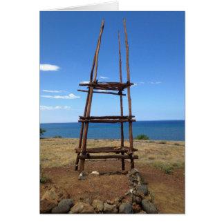 Cartes Autel hawaïen, Pu'ukohola Heiau, Hawaï