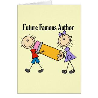 Cartes Auteur célèbre d'avenir