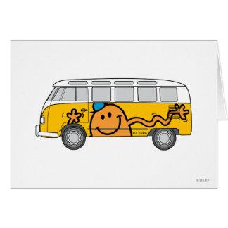 Cartes Autobus de chatouillement
