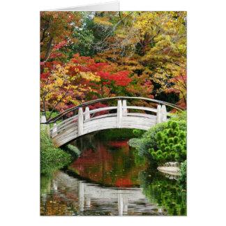 Cartes Automne dans les jardins japonais